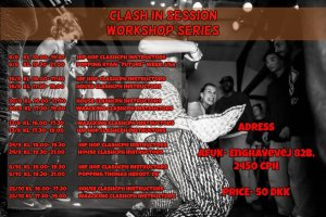 CLASH IN SESSIONS WORKSHOPS