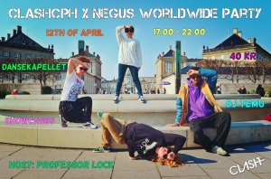 CLASHcph x Negus Worldwide Party