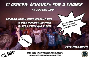 $Change$ for a Change - a donation jam